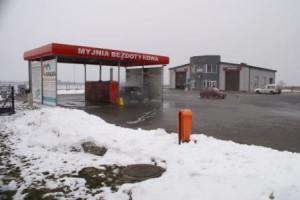 Myjnia i stacja kontroli Huzar