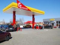 Otwarcie stacji Huzar w Warce