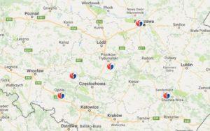 Nowe stacje Lotos na mapie Polski