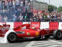Felipe Massa w Warszawie na Shell V-Power Nitro+ Show