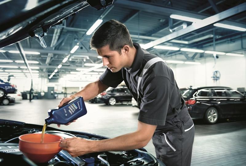 Oleje silnikowe Shell BMW