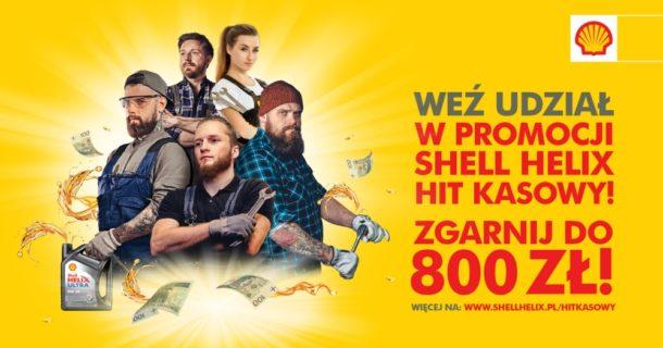 Shell Helix - Hit Kasowy