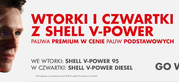 Wtorki i czwartki z Shell V-Power