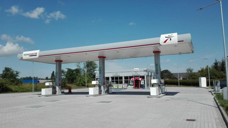 Stacja paliw Inter Marche Śrem