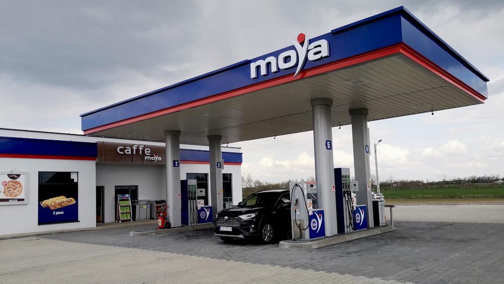 Stacja paliw Moya Wola Otałęska